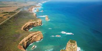 飘逸彩虹路 澳大利亚大洋路自驾游