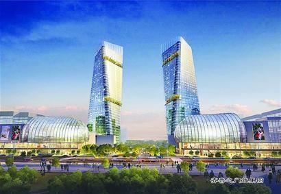 济南西客站片区将建 齐鲁之门 大型城市综合体