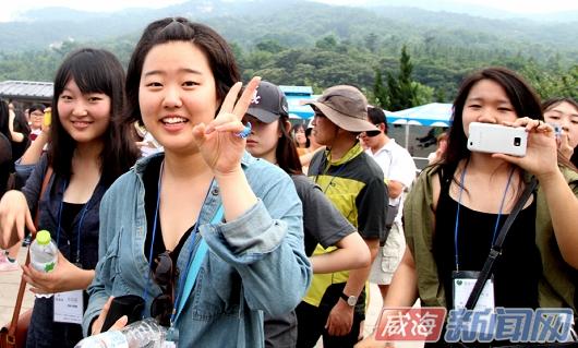 威海:威韩连线叫响夏日游 吸引18.4万韩国人