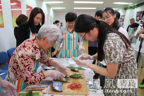 青岛仙游路商场学堂美食营养引导开讲社区健居民美食国际图片