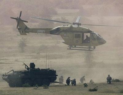"""印美抵近西藏军演 代号""""准备战争"""""""
