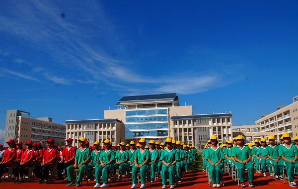 中央民族大学v分校分校陵水高中落成助力陵水江好的中学牡丹图片