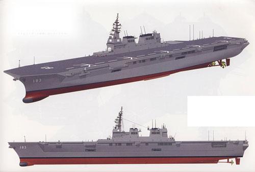 一对奇葩:德袖珍战列舰 日准航母