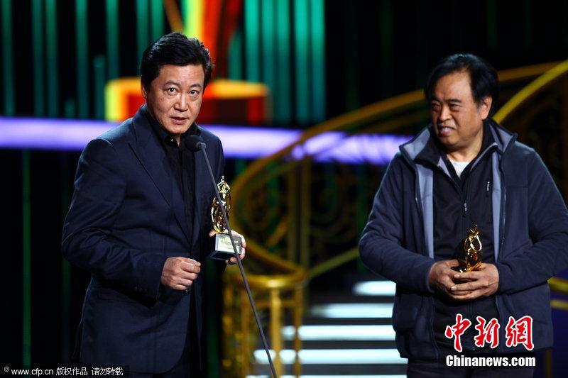 26日,第15届电影华表奖及第26届飞天奖颁奖典礼在京举行.李少红