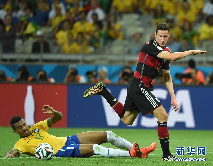 德国队以7比1战胜巴西队,晋级决赛. 新华社记者刘大伟摄-德国队7图片