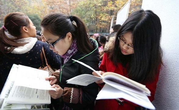 """高清:2014国考开考 152万人抢""""饭碗"""""""