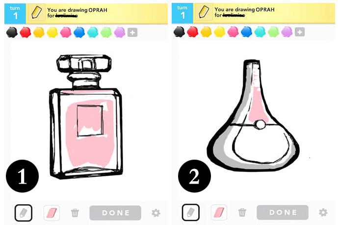 这款游戏是在两个用户之间展开的绘图猜字游戏,同事间各种搞怪的猜字图片