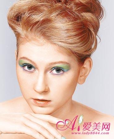 眼影画法 化妆师教你眼影颜色搭配