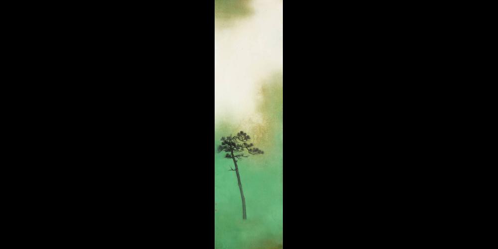 内外绝埃尘-180x47cm
