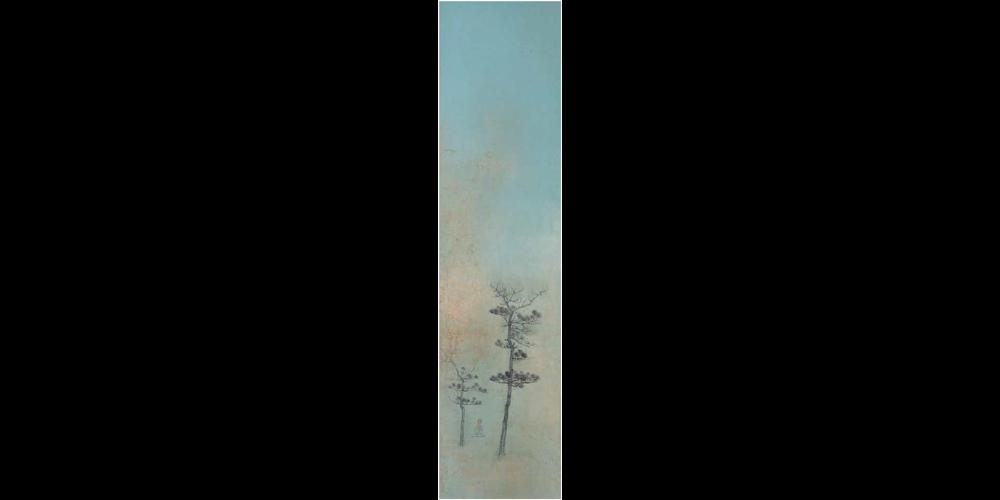 山水-197cm×45cm