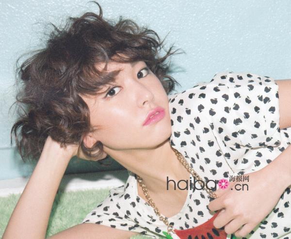 日本女明星近期杂志中的发型全新发布