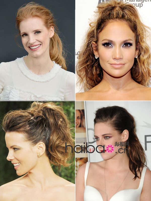 欧美女明星红毯偏好扎马尾 轻松打造简单时尚美发
