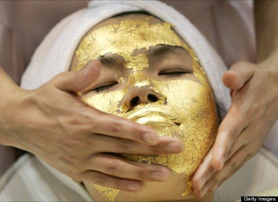 从黄金面膜到仙人掌按摩 22个世界新奇美容招数