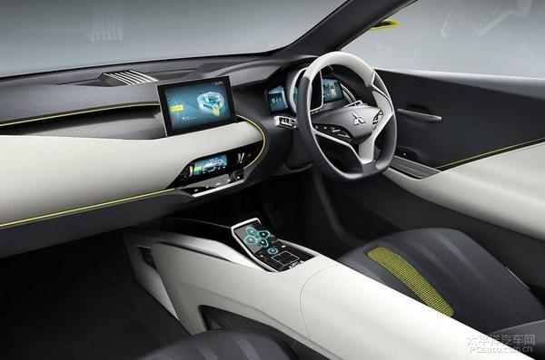 三菱发布纯电动SUV概念车 预示方向高清图片