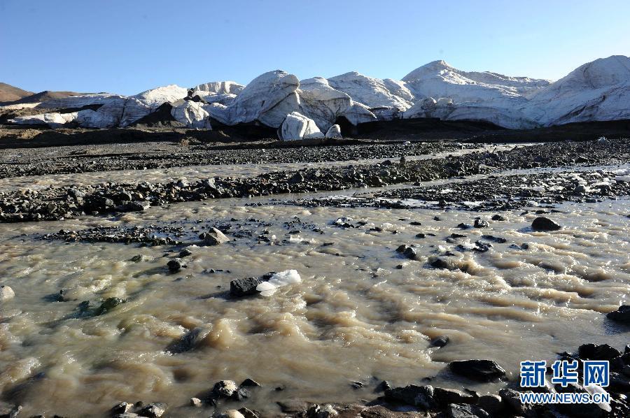 受气候变暖影响世界第三大冰川退缩明显图片