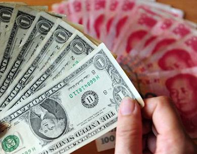 人民币汇率昨急跌200点创收盘新低