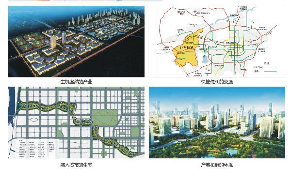 二、产业规划布局情况-沣西新城城区概况