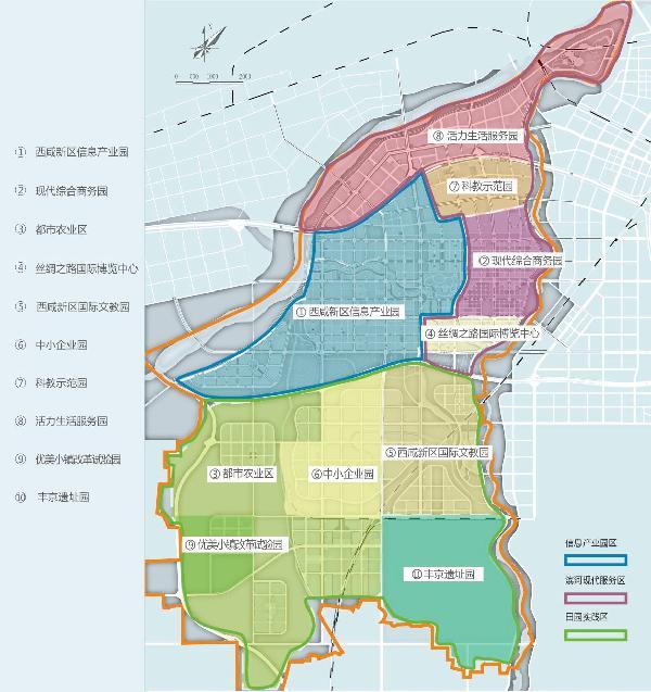 沣西新城产业规划