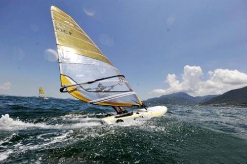 奥运优雅项目:帆船帆板