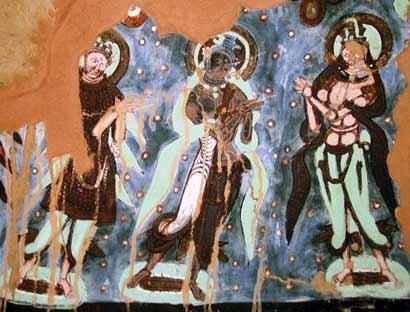 龟兹佛窟壁画:乐而不淫 世界人体艺术画廊的瑰宝