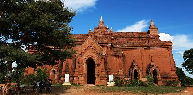 缅甸蒲甘最具代表性的佛塔