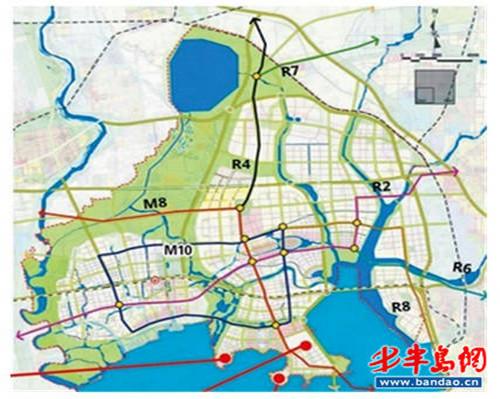 青岛高新区地图