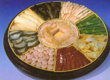 寿宴第一道菜 八仙过海闹罗汉