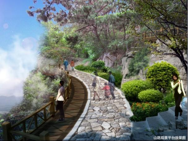 太清广场品质综合提升工程,是崂山风景区年内重点打造的南线黄金游览