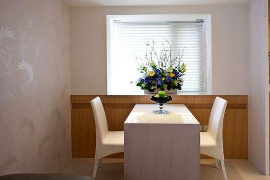 现代简约餐厅装修效果图大全2014图片
