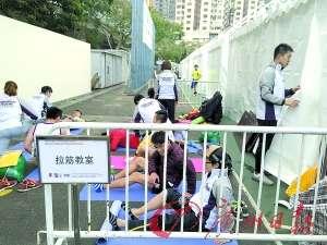 香港马拉松没有明星一样精彩