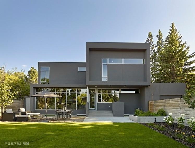 加拿大sd两层别墅设计 简约欧美风