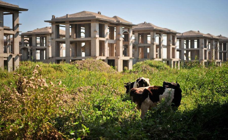 """看天津""""亚洲最大别墅区""""的现状··· - 蜜蜂 - 天下人间乐园"""