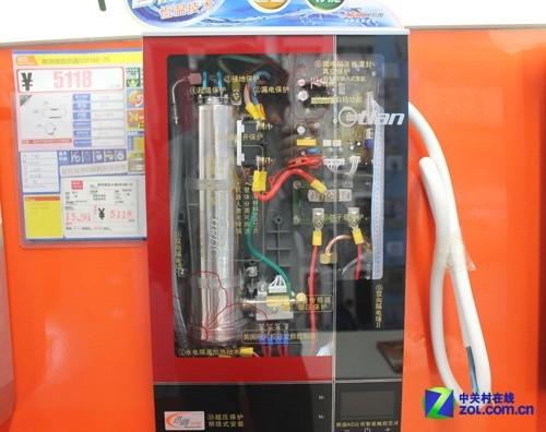 即热式电热水器内部构造