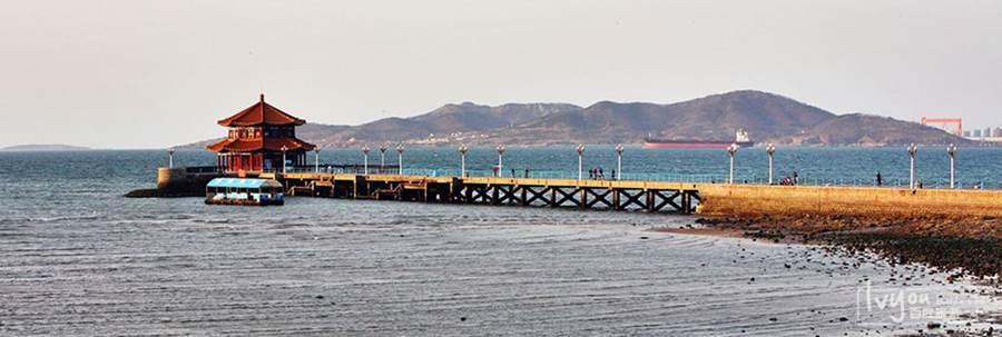 青岛栈桥海水浴场