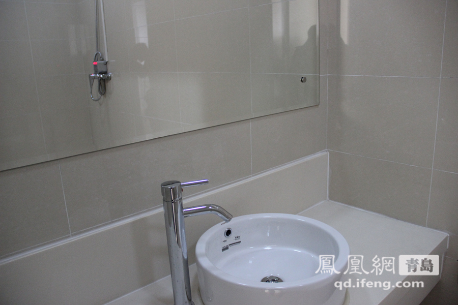 病房内洗手间.山东大学齐鲁医院(青岛)将于12月26日正式开诊,图片