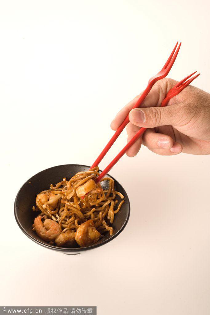 筷子烫短发型图片展示图片