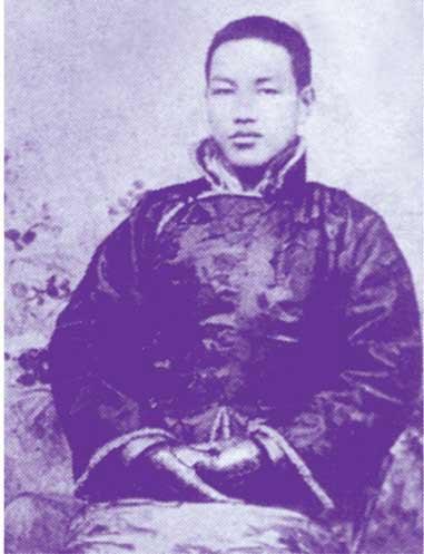 14岁的蒋介石。(图片来源:蒋介石画传)