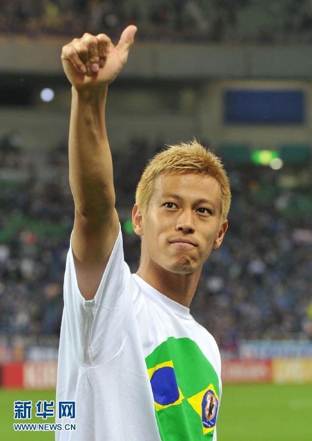 西世界杯亚洲区预选赛B组第8轮中,日本队以1比1战平澳大利亚队,图片