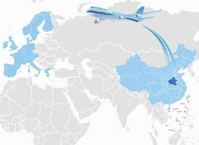 郑州卢森堡货运航线成绩单 5个月62班货运超万吨