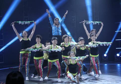大眼睛舞蹈视频_赢得评委的一致好评;南京\