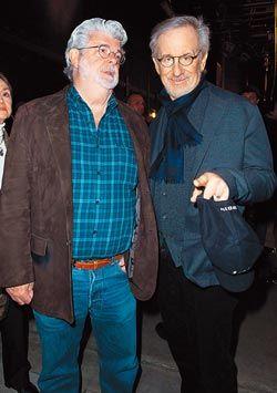 史蒂芬史匹柏是李安在奥斯卡导演竞赛中最大的敌手。(法新社)