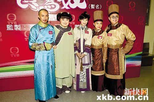 TVB新剧《食为奴》试造型 万绮雯古装扮相靓丽