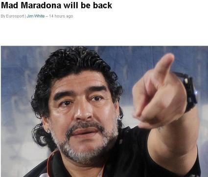 曝马拉多纳曾哀求留任:请再给我一次机会吧图片