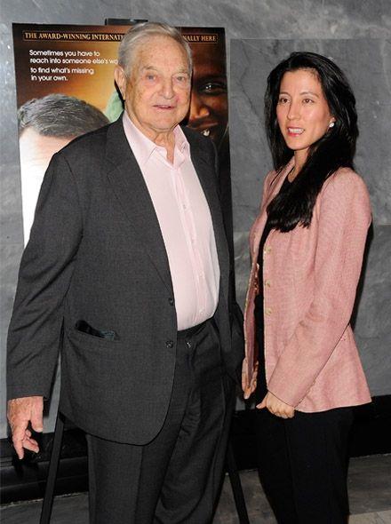 83岁索罗斯系第三次结婚 迎娶42岁日裔混血儿(图) - 稀土天使 - 稀土天使的博客