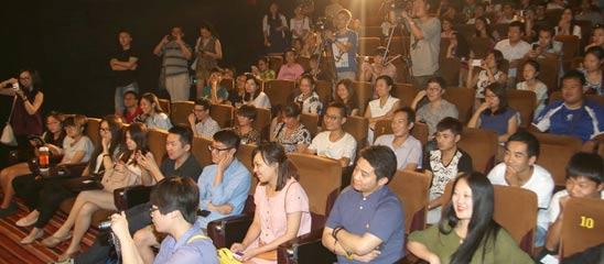 《忘了去懂你》公映礼现场观众爆满