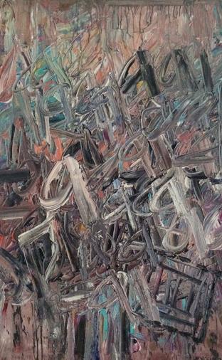 油画:《作品1992-6号》