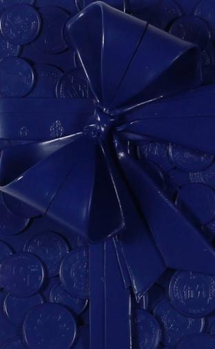 雕塑:《画人民币》