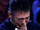 李连杰录《出彩中国人》动情落泪