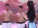 章子怡再临《最强大脑》 与百个肌肉男互动