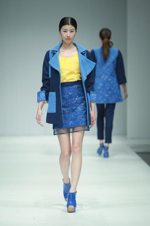 2014中国国际大学生时装周 广州大学纺织服装